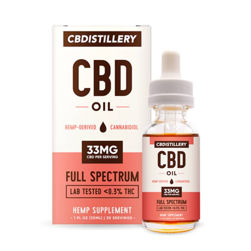 CBDistillery - CBD Tincture - Full Spectrum - 1000mg - Oils -  - CBDistillery - Have A Nice Day CBD