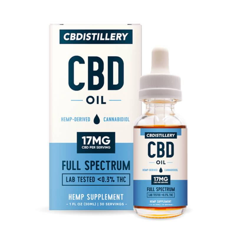 CBDistillery - CBD Tincture - Full Spectrum - 500mg -  -  - CBDistillery - Have A Nice Day CBD
