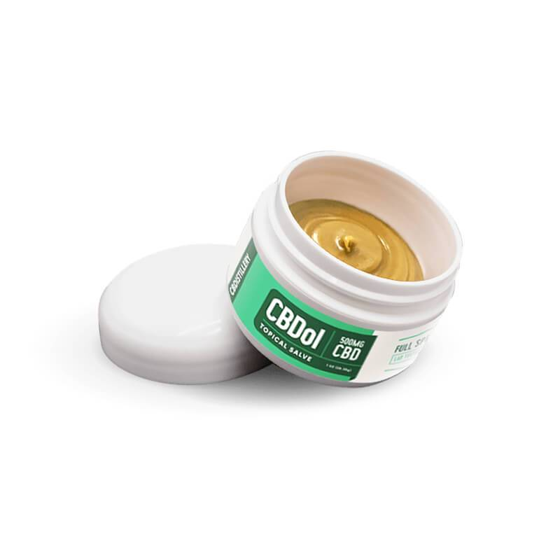 CBDistillery - CBD Topical - CBDol Topical Salve - 500mg - Bodycare -  - CBDistillery - Have A Nice Day CBD