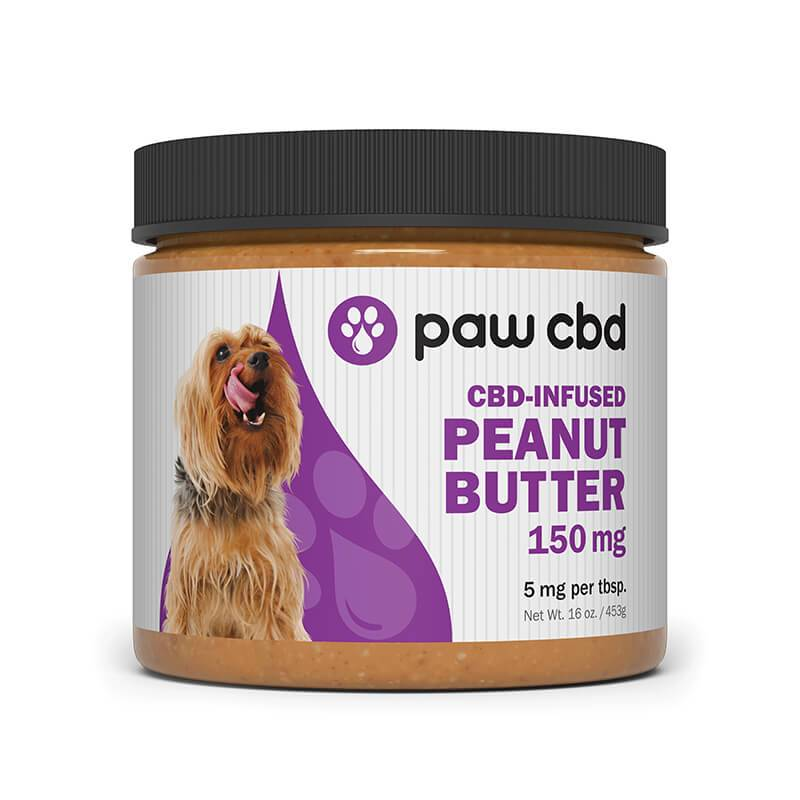 cbdMD - CBD Pet Edible - Peanut Butter - 150mg-600mg -  -  - cbdMD - Have A Nice Day CBD