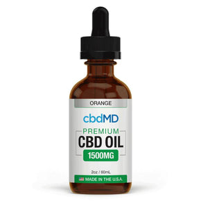 cbdMD - CBD Tincture - Broad Spectrum Orange - 300mg-3000mg - Oils -  - cbdMD - Have A Nice Day CBD