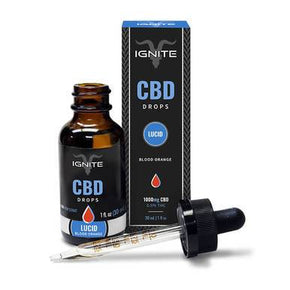Ignite CBD - CBD Tincture - Blood Orange Drops - 350mg-1000mg - Oils -  - Ignite CBD - Have A Nice Day CBD