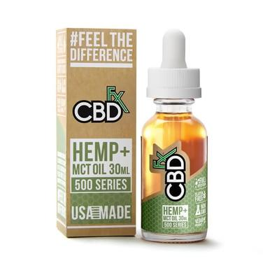 CBDfx - CBD Tincture Oil - 500mg - Oils -  - CBDfx - Have A Nice Day CBD