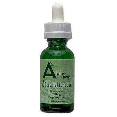 Alpine Hemp - CBD Vape - Caramel Junction - 100mg-300mg - Vape -  - Alpine Hemp - Have A Nice Day CBD