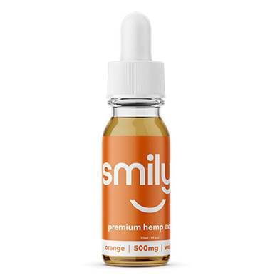Smilyn - CBD Tincture - Orange - 500mg-1500mg - Oils -  - Smilyn CBD - Have A Nice Day CBD