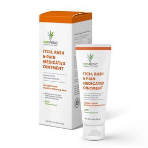 CBDMEDIC - CBD Topical - Itch, Rash & Pain Medicated Ointment - Bodycare -  - CBDMEDIC - Have A Nice Day CBD