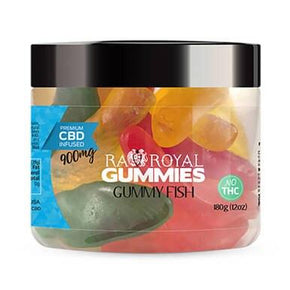 RA Royal CBD - CBD Edible - Gummy Fish Gummies - 300mg-1200mg - Edibles -  - RA Royal CBD - Have A Nice Day CBD
