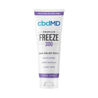 cbdMD - CBD Topical - Freeze Cold Therapy - 300mg-1500mg - Bodycare -  - cbdMD - Have A Nice Day CBD