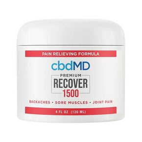 cbdMD - CBD Topical - Recover Inflammation Cream - 300mg-1500mg - Bodycare -  - cbdMD - Have A Nice Day CBD
