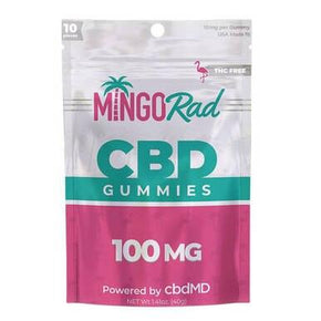 Mingo Rad - CBD Edible - Broad Spectrum Gummies - 10mg - Edibles -  - Mingo Rad - Have A Nice Day CBD