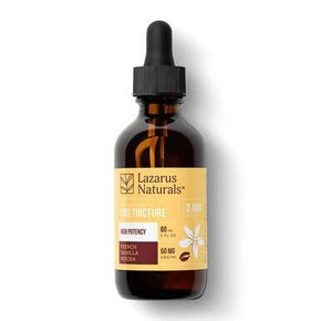 Lazarus Naturals - CBD Tincture - Full Spectrum French Vanilla Mocha - 1500mg-6000mg - Oils -  - Lazarus Naturals - Have A Nice Day CBD