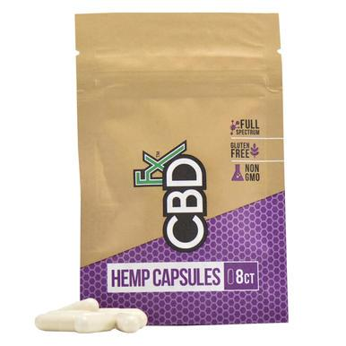 CBDfx - CBD Capsules - 8 Count Pouch - 25mg - Oils -  - CBDfx - Have A Nice Day CBD