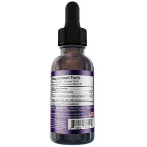 Medterra - CBD Tincture - Broad Spectrum Strawberry Mint - 1000mg-2000mg - Oils -  - Medterra - Have A Nice Day CBD