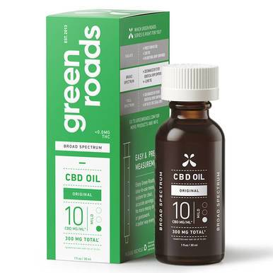 Green Roads - CBD Tincture - Broad Spectrum Original Mild - 300mg - Oils -  - Green Roads - Have A Nice Day CBD