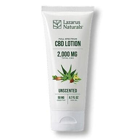Lazarus Naturals - CBD Topical - Unscented Lotion 300mg-2000mg - Bodycare -  - Lazarus Naturals - Have A Nice Day CBD