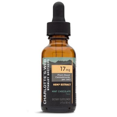 Charlottes Web - CBD Tincture - Full Spectrum Mint Chocolate - 17mg/1mL - Oils -  - Charlotte's Web - Have A Nice Day CBD