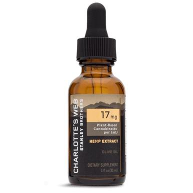 Charlottes Web - CBD Tincture - Full Spectrum Olive Oil (Natural) - 17mg/1mL - Oils -  - Charlotte's Web - Have A Nice Day CBD