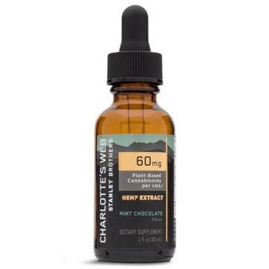 Charlottes Web - CBD Tincture - Full Spectrum Mint Chocolate - 60mg/1mL - Oils -  - Charlotte's Web - Have A Nice Day CBD