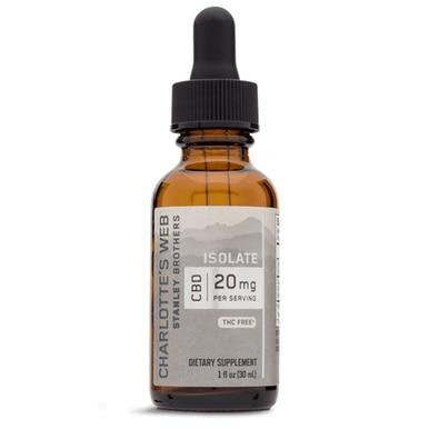 Charlottes Web - CBD Tincture - Isolate Unlfavored - 20mg/1mL - Oils -  - Charlotte's Web - Have A Nice Day CBD