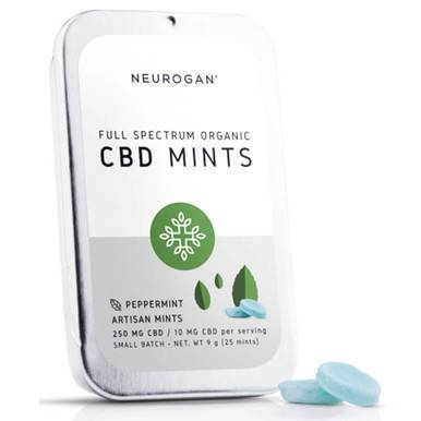 Neurogan, Inc. - CBD Edible - Full Spectrum Mints - 10mg - Edibles -  - Neurogan, Inc. - Have A Nice Day CBD