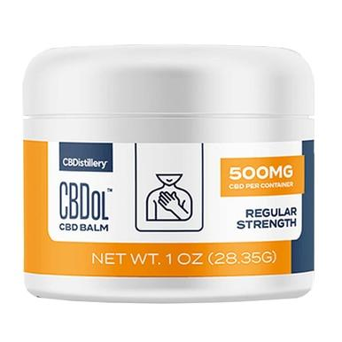 CBDistillery - CBD Topical - CBDol Full Spectrum Balm - 500mg - Bodycare -  - CBDistillery - Have A Nice Day CBD