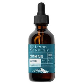 Lazarus Naturals - CBD Tincture - Flavorless High Potency CBG Isolate 750mg-3000mg - Oils -  - Lazarus Naturals - Have A Nice Day CBD