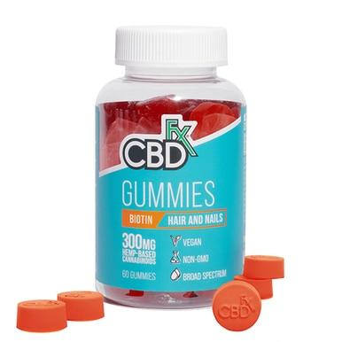 CBDfx - CBD Edible - Broad Spectrum Biotin Gummies - 5mg - Edibles -  - CBDfx - Have A Nice Day CBD