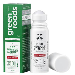 Green Roads - CBD Topical - Heat Relief Muscle & Joint Roll-On 150mg-750mg - Bodycare -  - Green Roads - Have A Nice Day CBD