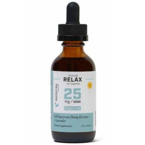 Receptra Naturals - CBD Tincture - Full Spectrum RELAX + Lavender - 25mg/1ml - Oils -  - Receptra Naturals - Have A Nice Day CBD