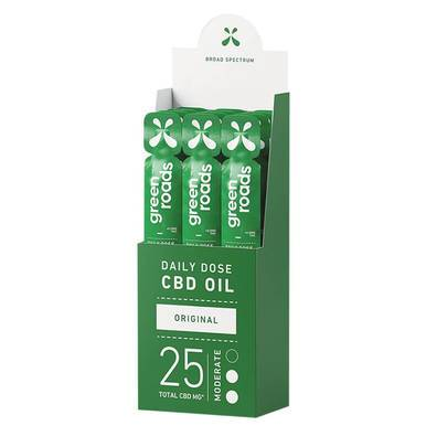 Green Roads - CBD Tincture - Daily Dose Original Broad Spectrum Oil - 25mg - Oils -  - Green Roads - Have A Nice Day CBD