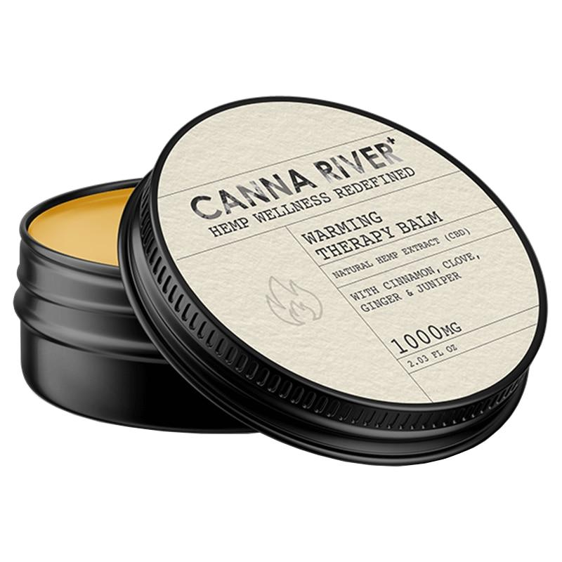 Canna River - CBD Topical - Warming Balm - 1000mg - Bodycare - Single - 1000mg - Canna River - Have A Nice Day CBD