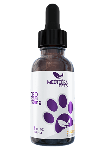 Medterra - CBD Pet Tincture - Chicken - 150mg-750mg - Oils - 750 MG - Medterra - Have A Nice Day CBD