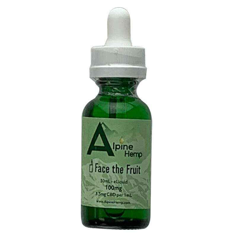 Alpine Hemp - CBD Vape - Face the Fruit - 100mg-300mg - Vape -  - Alpine Hemp - Have A Nice Day CBD