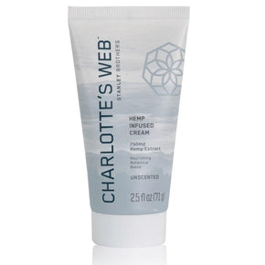 Charlottes Web - CBD Topical - Nourishing Unscented Cream - 750mg - Bodycare - 2.5oz - 750mg - Charlotte's Web - Have A Nice Day CBD