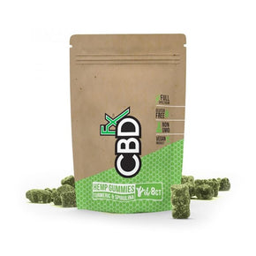 CBDfx - CBD Edible - Gummies - Turmeric & Spirulina - 5mg - Oils - Pouch - 8ct - CBDfx - Have A Nice Day CBD