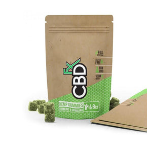CBDfx - CBD Edible - Gummies - Turmeric & Spirulina - 5mg - Oils - Pouch Display - 30 Pouches - CBDfx - Have A Nice Day CBD