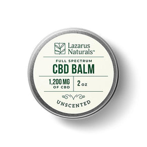 Lazarus Naturals - CBD Topical - Unscented Full Spectrum Balm - 300mg-1200mg - Bodycare -  - Lazarus Naturals - Have A Nice Day CBD
