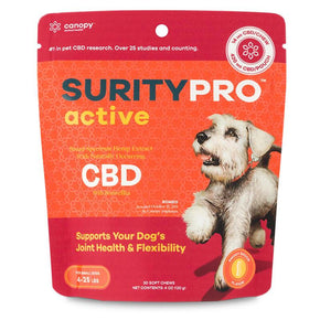 SurityPRO - CBD Pet Treats - Active Soft Chews - 14mg-54mg -  - 30ct - Small Breeds - SurityPRO - Have A Nice Day CBD