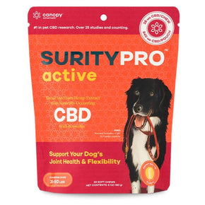 SurityPRO - CBD Pet Treats - Active Soft Chews - 14mg-54mg -  - 30ct - Medium Breeds - SurityPRO - Have A Nice Day CBD