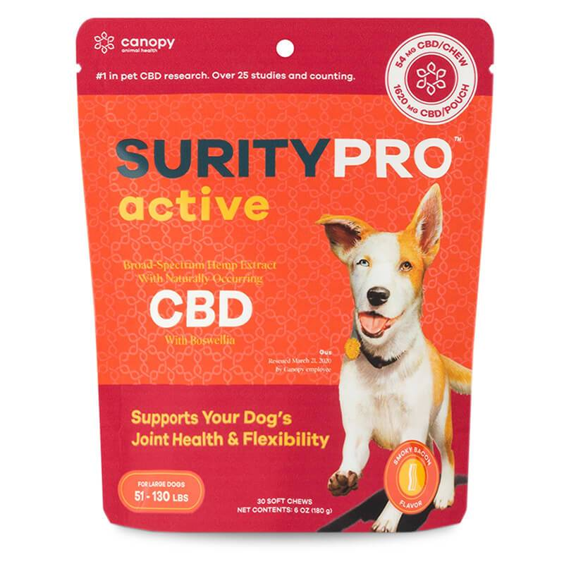 SurityPRO - CBD Pet Treats - Active Soft Chews - 14mg-54mg -  - 30ct - Large Breeds - SurityPRO - Have A Nice Day CBD