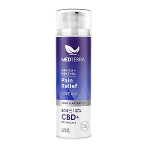 Medterra - CBD Topical - Pain Relief Cream - 500mg-1000mg -  - Single - 500mg - Medterra - Have A Nice Day CBD