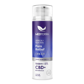 Medterra - CBD Topical - Pain Relief Cream - 500mg-1000mg -  - Single - 1000mg - Medterra - Have A Nice Day CBD