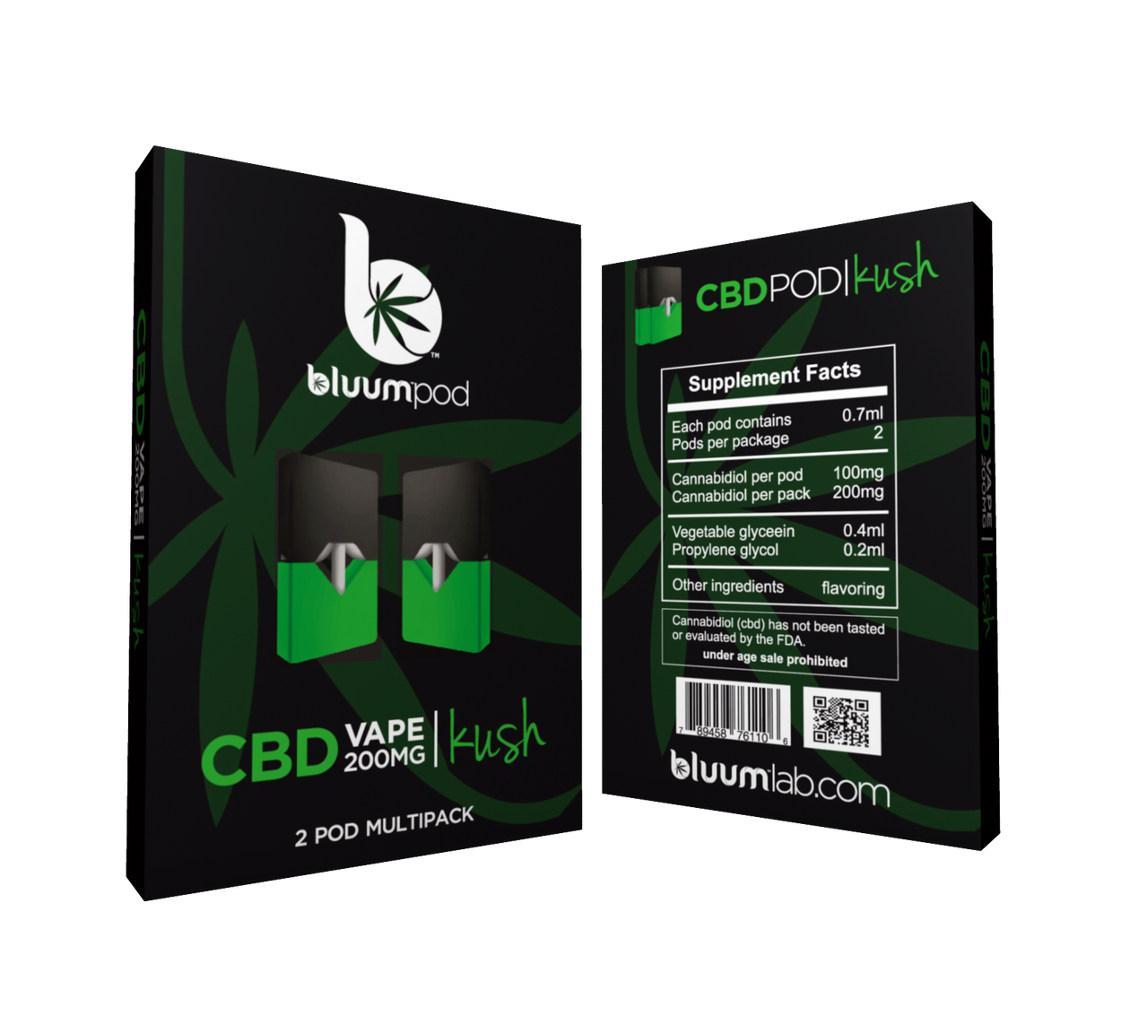 Bluumlab - CBD Pod Cartridge (2pc/pk) - Have A Nice Day CBD