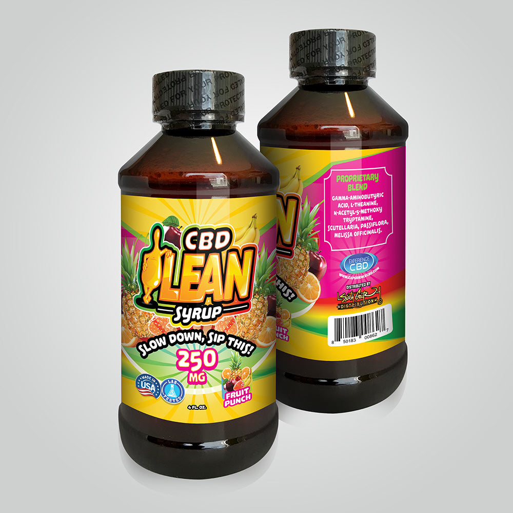 Experience CBD - CBD Fruit Punch Syrup - Have A Nice Day CBD