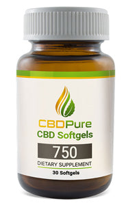 CBDPure - Softgels 750mg