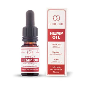 Endoca - Hemp Oil Drops CBD 15%