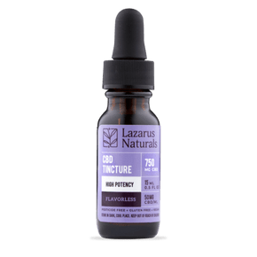 Lazarus Naturals - Flavorless High Potency CBD Tincture - Have A Nice Day CBD