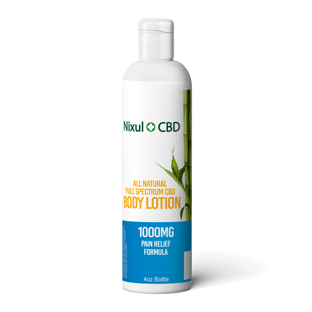 Nixul CBD - Pain Relief Body Lotion - 1000mg - Have A Nice Day CBD