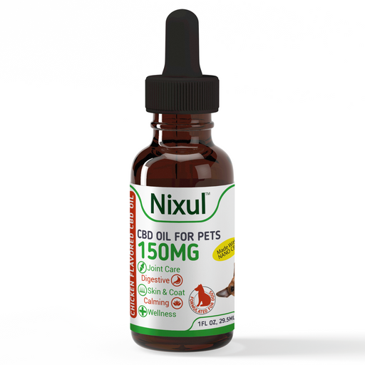 Nixul CBD - Pet Formula Tincture - Chicken
