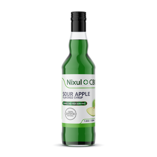 Nixul CBD - CBD Syrup Cocktails - 50ml